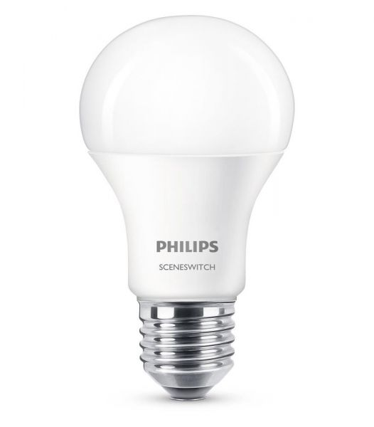 Philips LED SceneSwitch 8W warm/-neutralweiss E27 8718696598375