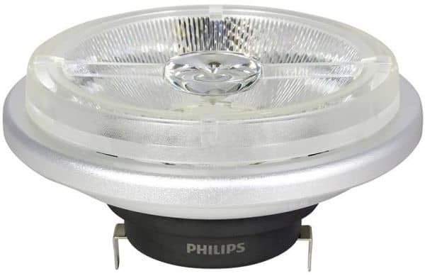 Philips G53/AR111 LED Spot Master 15W 24° 830Lm 2700K dimmbar warmweiss