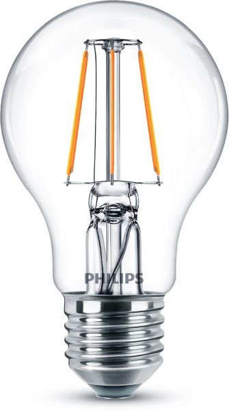 Philips LED COOL WHITE Classic 4.3W neutralweiss E27 8718699762018