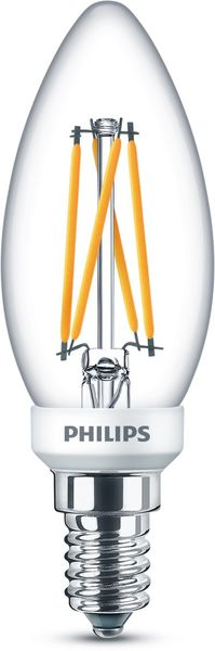 Philips LED Kerze Classic 3.2W E14 WarmGlow dimmbar 8718699770563 warmweiss