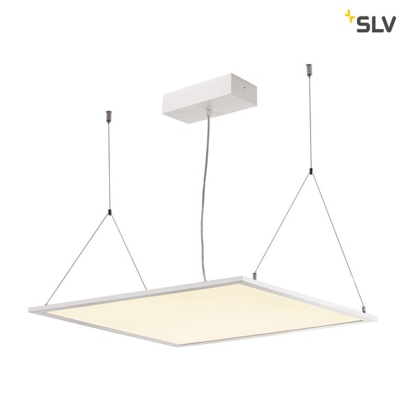 SLV 158803 I-VIDUAL LED Panel für Rasterdecken 600x600mm UGR19 3000K