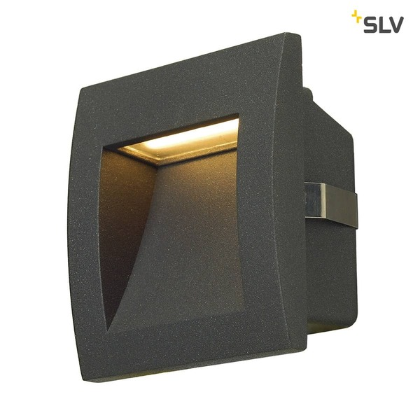SLV 233605 DOWNUNDER OUT LED S Wandeinbauleuchte anthrazit