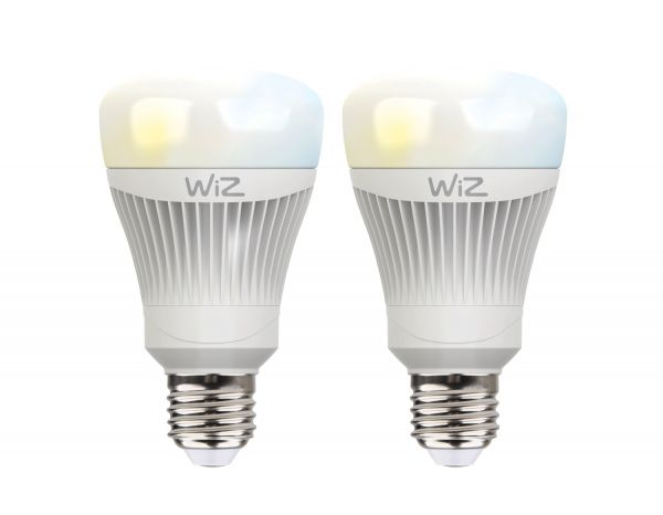 Set: 2x WiZ LED Lampe E27 11,5W 2700-6500K Smarthome WLAN. Kompatibel mit Amazon Alexa, Google Home