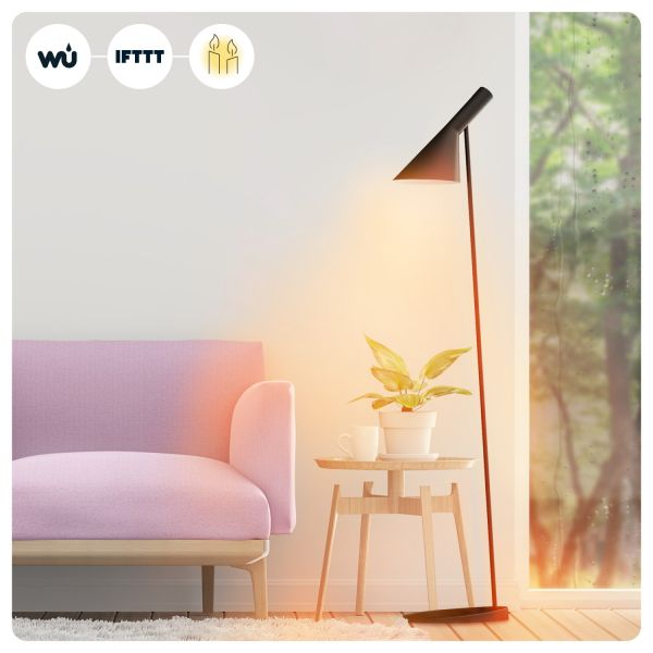 WiZ LED Lampe E27 11,5W 2200-6500K RGB Smarthome WLAN. Kompatibel mit Amazon Alexa, Google Home