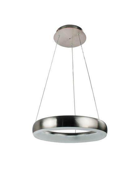 WOFI Pendelleuchte Clint WiZ LED 24W Steuerbare Lichtfarbe Nickel dimmbar matt