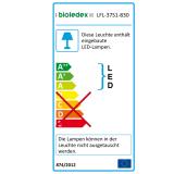 Bioledex ASTIR LED Strahler 30W 70° 2520Lm 3000K Schwarz