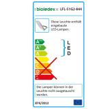 Bioledex ASTIR LED Fluter 50W 120° 4600Lm 4000K Grau