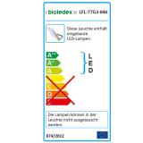 Bioledex ASTIR LED Fluter 70W 70° 6020Lm 5000K Grau