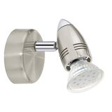 Eglo 92641 Magnum LED Spot 3W Stahl nickel-matt chrom