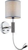 Globo 24688W Umbrella LED Wandleuchte 3W Nickel matt warmweiss