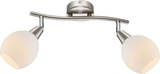 Globo 54351-2 Elliott LED Deckenleuchte 6W Nickel matt warmweiss