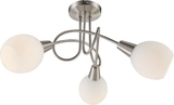 Globo 54351-3 Elliott LED Deckenleuchte 9W Nickel matt warmweiss