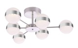 Globo 56008-6D LOVEST Deckenleuchte LED Nickel matt, Opal 3000K