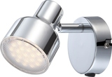 Globo 56213-1 Rois LED Wandleuchte 4W Chrom warmweiss