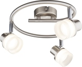 Globo 56550-3 Friso I LED Deckenleuchte 14,4W Nickel matt warmweiss