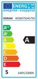 OSRAM LED STAR+ GU10 PAR16 LED Strahler 4,5W 250Lm 120° Warmweis + RGB + Fernbedienung
