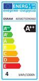 5er-Pack OSRAM BASE GU10 PAR16 LED Strahler 4,3W 350Lm 36° 2700K warmweiss wie 50W