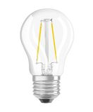 OSRAM SUPERSTAR E27 P Filament LED Lampe 3,3W dimmbar 250Lm 2700K warmweiss wie 25W