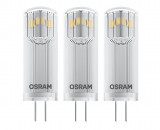 OSRAM BASE PIN G4 LED Lampe 1,8W 3-er Pack warmweiss wie 20W