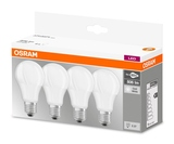 Osram 4er-Pack E27 LED Birne Base 9,0W 806Lm Neutralweiss