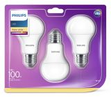 3er-Set Philips E27 LED Birne EyeComfort 13W warmweiss 8718696657782 = 100W Glühbirne