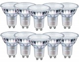 10er Set - Philips Master GU10 LED Spot Value 3.7W 260Lm 90Ra warmweiss dimmbar