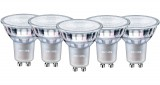 5er Set - Philips Master GU10 LED Spot Value 3.7W 260Lm 90Ra warmweiss dimmbar