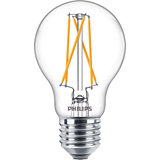 Philips Classic LED Lampe 6,7W A60 E27 Ra90 warmweiss klar Filament DimTone dimmbar 8718699646165