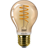 Philips Classic LED Lampe 5,5W A60 E27 extra warmweiss gold Vintage dimmbar 8718699686543