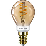 Philips Classic LED Lampe 3,5W E14 extra warmweiss P45 gold Vintage  dimmbar 8718699686642