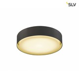 SLV 1001856 LIPA CL LED Outdoor Deckenaufbauleuchte IP54 anthrazit 3000 4000K