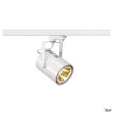 SLV 1002682 EURO SPOT LED, 20W COB LED weiss, 36°, 3000K, inkl. 3P.-Adapter