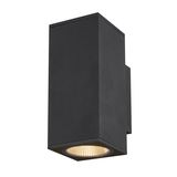 SLV 1003419 ENOLA SQUARE UP/DOWN M Outdoor LED Wandleuchte anthrazit CCT 3000/4000K IP65