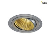 SLV 114266 NEW TRIA LED DL ROUND Set alu-brushed 25W 30° 2700K inkl. Treiber Clipfed.