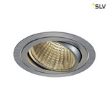 SLV 114276 NEW TRIA LED DL ROUND Set alu-brushed 25W 30° 3000K inkl. Treiber Clipfed.