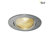SLV 114386 NEW TRIA 68 LED DL ROUND Set alu-brushed 9W 38° 3000K inkl. Treiber