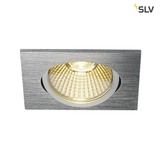 SLV 114396 NEW TRIA 68 LED DL SQUARE Set alu-brushed 9W 38° 3000K inkl. Treiber