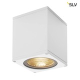 SLV 234521 BIG THEO WALL Outdoor Wandleuchte Flood down LED 3000K weiß B H T 13 14 13,5 cm