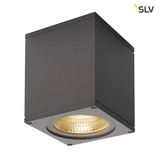 SLV 234525 BIG THEO WALL Outdoor Wandleuchte Flood down LED 3000K anthrazit B H T 13 14 13,5 cm
