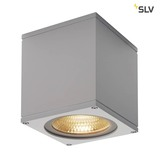SLV 234534 BIG THEO CEILING Outdoor Deckenleuchte LED 3000K silbergrau