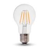 LED Filament E27 Lampe 4W A60 400Lm warmweiss