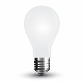 LED Filament Frosted E27 Lampe 4W 350Lm warmweiss matt