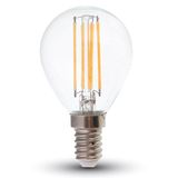 LED Filament E14 Lampe 4W 320Lm warmweiss dimmbar